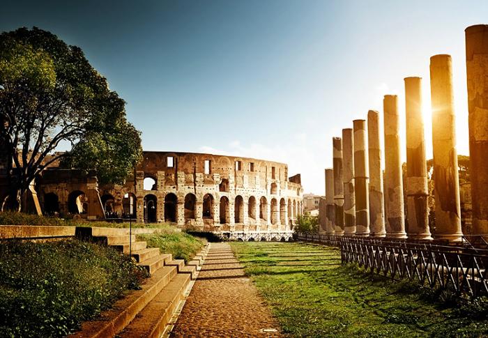 Колизей. Италия. Рим.