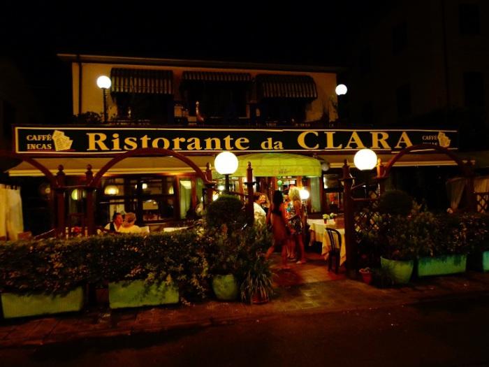Итальянский ресторан.