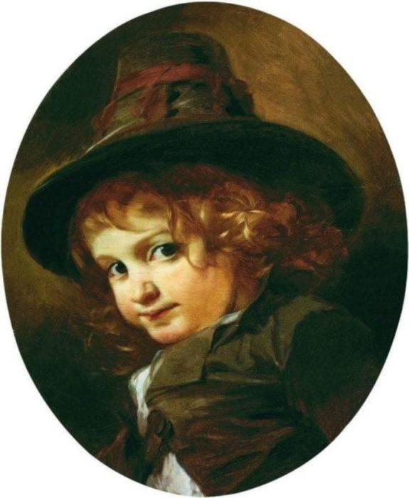 Портрет мальчика-итальянца. Автор: Иван Макаров.