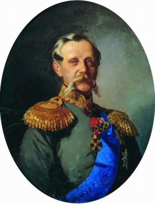 Портрет генерала Самсонова Е.П. Автор: Иван Макаров.