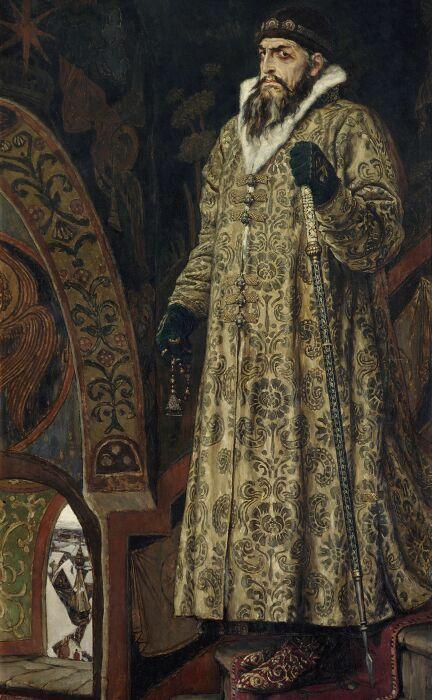 Царь Иван Грозный, Виктор Михайлович Васнецов, 1897 год. \ Фото: pinterest.com.