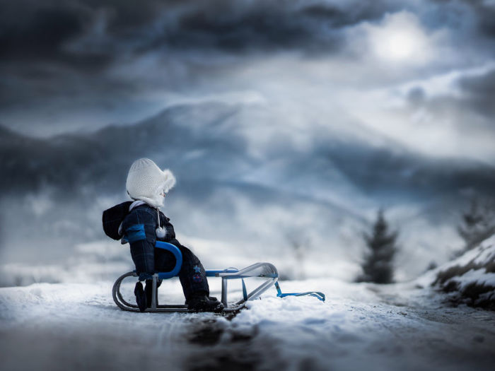 На пути в страну снов. Автор: Iwona Podlasinska.