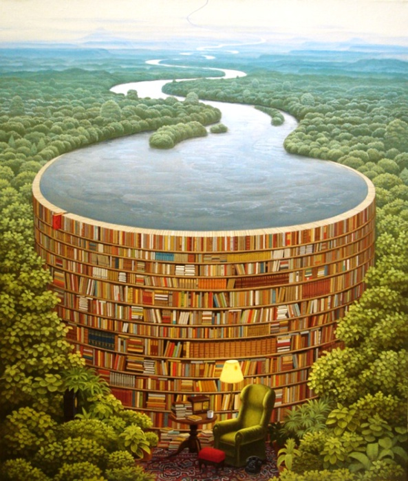 Всемирная библиотека. Jacek Yerka.