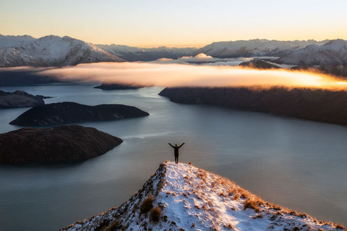 Пик Коромандел, Ванака, Новая Зеландия. Автор: Jack Bolshaw и Marta Kulesza.