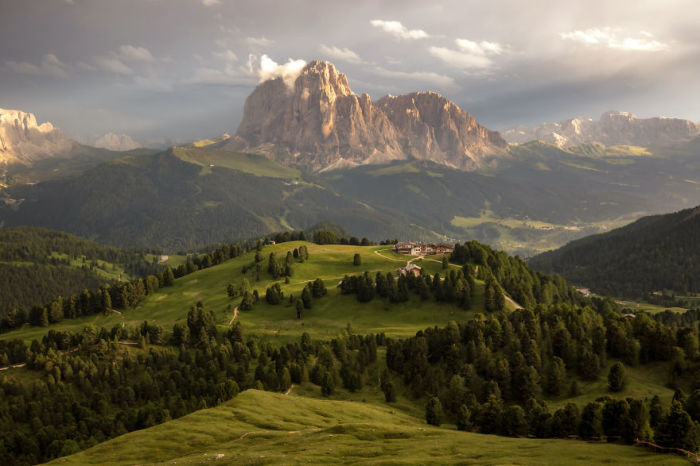 Сассолунго, природный парк Пуэц-Одле, Италия. Автор: Jack Bolshaw и Marta Kulesza.