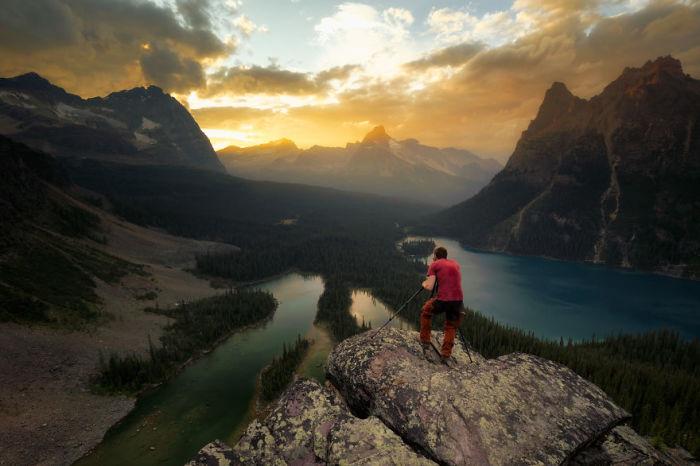 Плато Опабин, национальный парк Йохо, Канада. Автор: Jack Bolshaw и Marta Kulesza.
