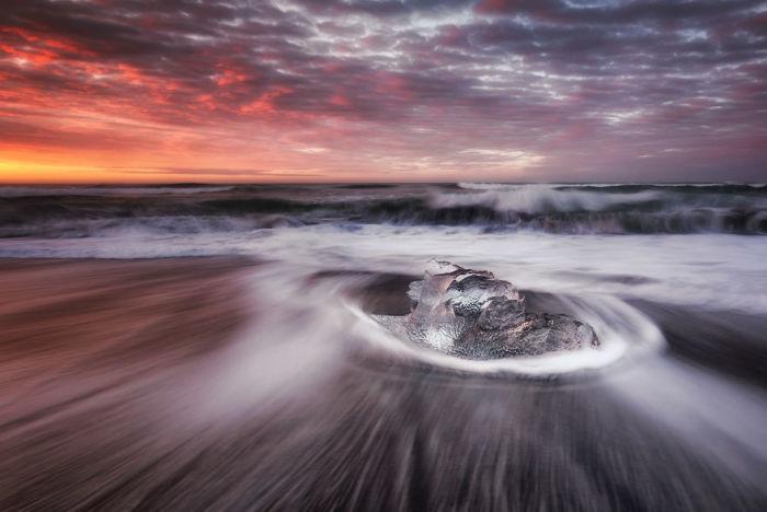 Алмазный пляж, Исландия. Автор: Jack Bolshaw и Marta Kulesza.