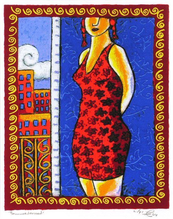 Летнее платье. Автор: Jacques Tange.