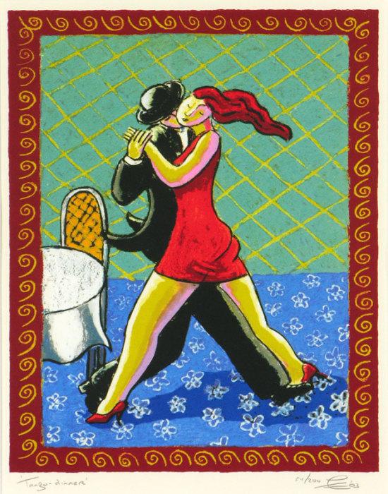 Полуденное танго. Автор: Jacques Tange.