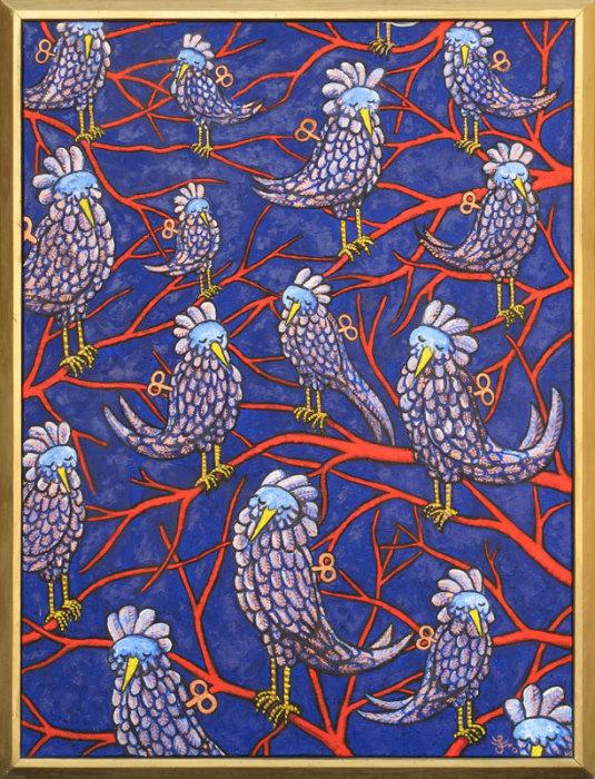 Африканская весна. Автор: Jacques Tange.