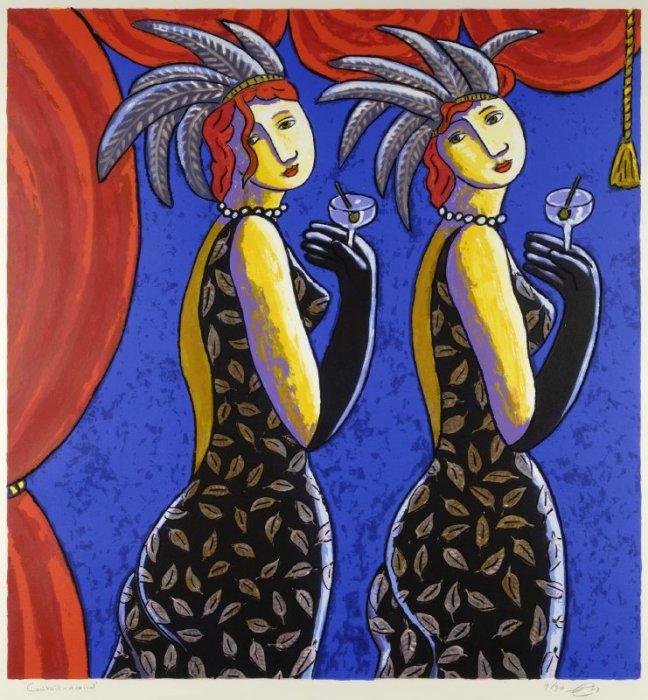 Коктейльное платье. Автор: Jacques Tange.