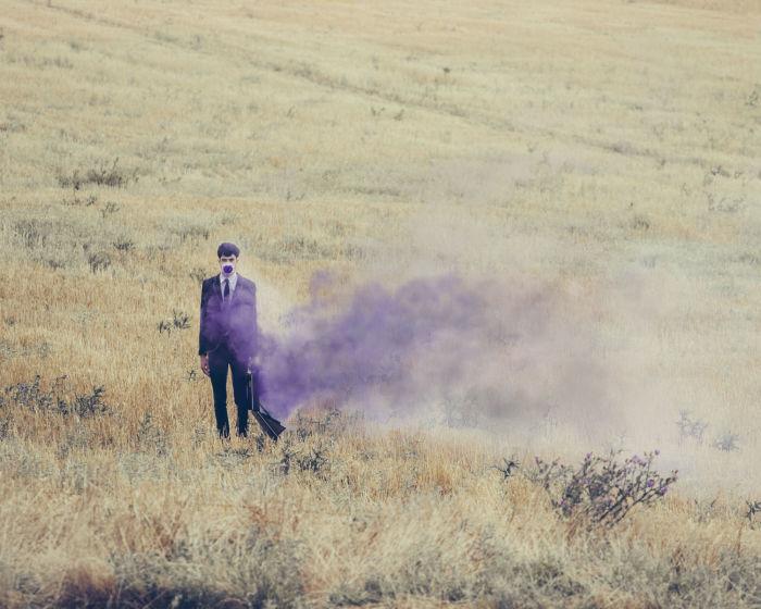 Сиреневый дым. Автор: Jairo Alvarez.