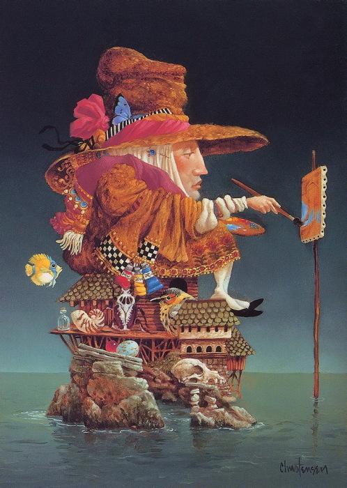 Мудрость, доброта и символизм: Многогранные картины с философскими мотивами