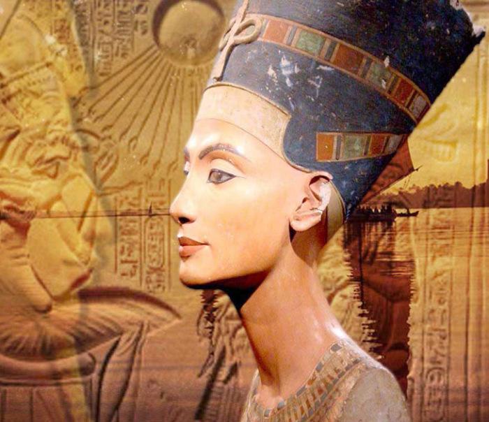 Бюст Нефертити. \ Фото: cronicacampeche.com.