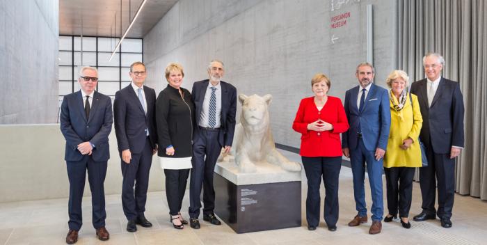 Открытие галереи Джеймса Симона в 2019 году. \ Фото: preussischer-kulturbesitz.de.