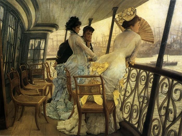Галерея Г.М.С. Калькутта. Автор: James Tissot.