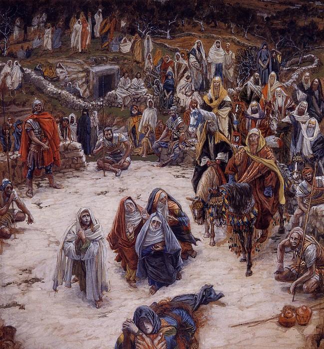 Что наш Спаситель видел с креста. Автор: James Tissot.