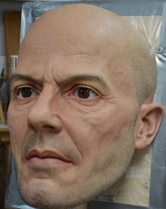 Невероятно реалистичная скульптура. Автор: Jamie Salmon.