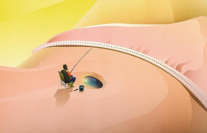 Ожидание и наблюдение: Концептуальные векторные иллюстрации от Яна Зимена.