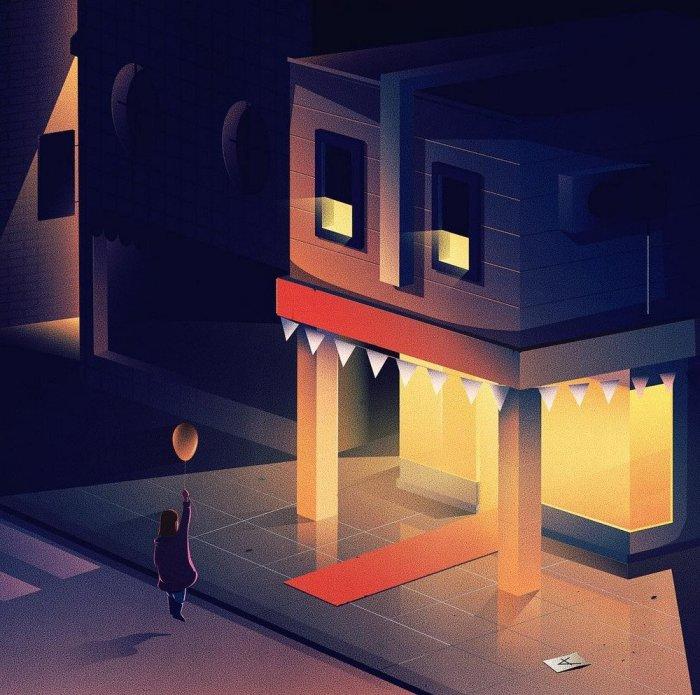 Дом-монстр. Автор: Jan Siemen.