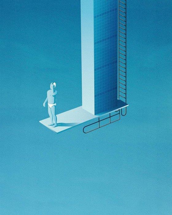 Водолаз. Автор: Jan Siemen.