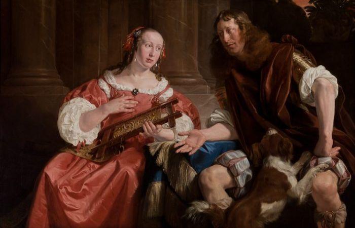 Улисс и Пенелопа. Автор: Jan de Bray.