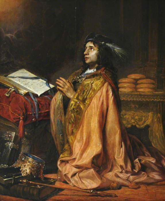 Царь Давид и шелуха. Автор: Jan de Bray.