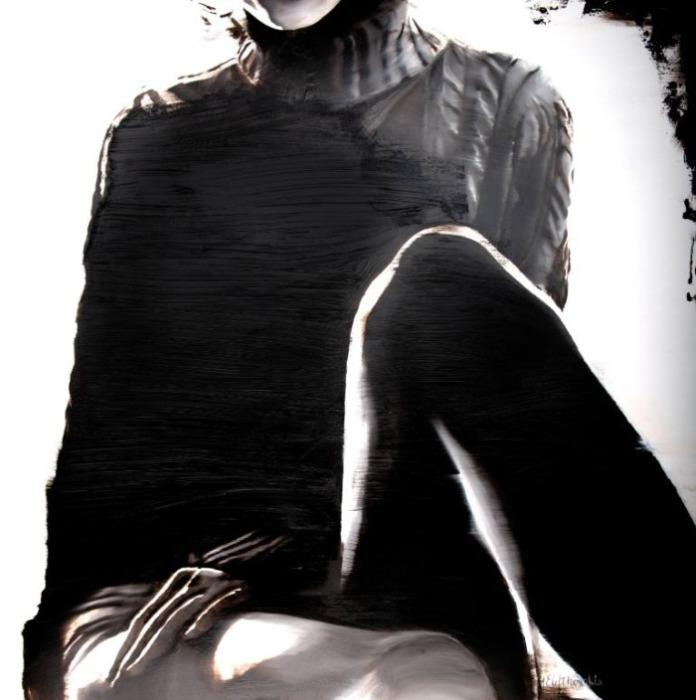 «Сепия» - серия работ, которую Джанель посвятила своей бабушке Эвелин. Автор: художница-самоучка Джанель Элефтекракис (Janel Eleftherakis).