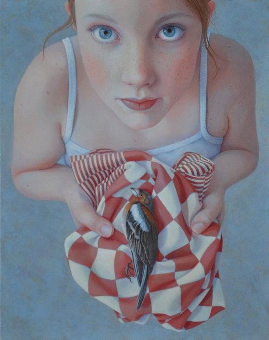 Птица. Автор: Jantina Peperkamp.
