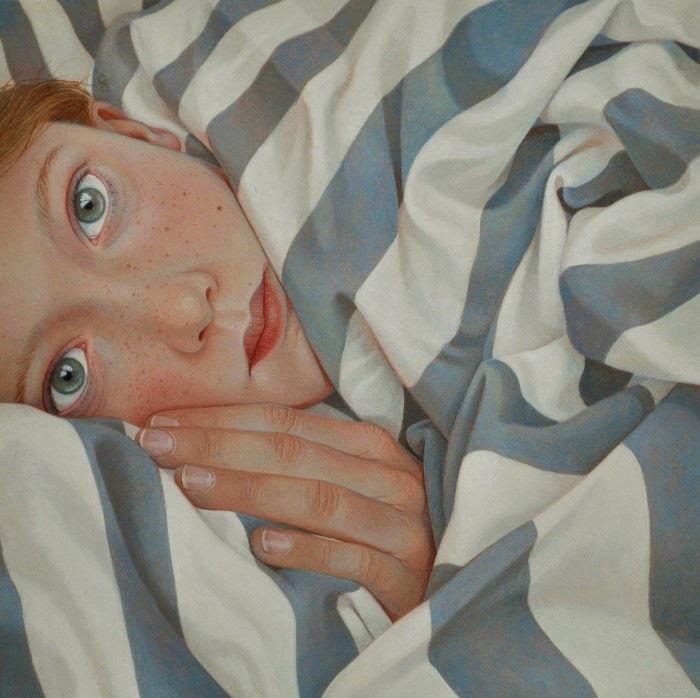 Готовясь ко сну. Автор: Jantina Peperkamp.