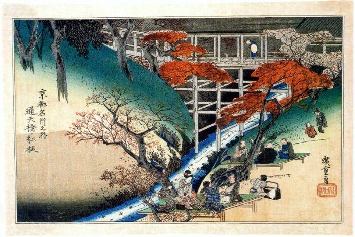 Утагава Хиросигэ. \ Фото: postila.ru.