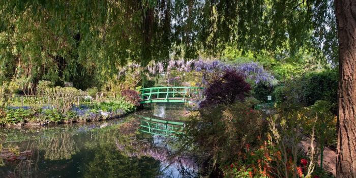 Водный сад в Живерни, Клод Моне. \ Фото: coytte69.rssing.com.