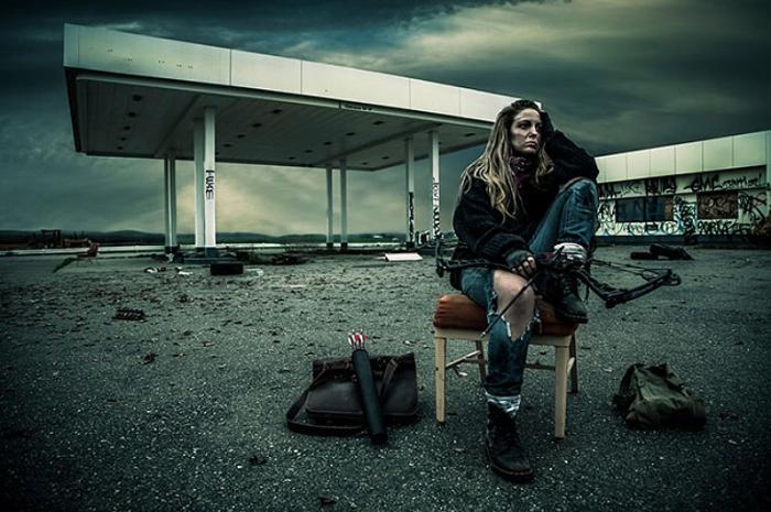 Выжившая после Апокалипсиса. Jason Sinn.
