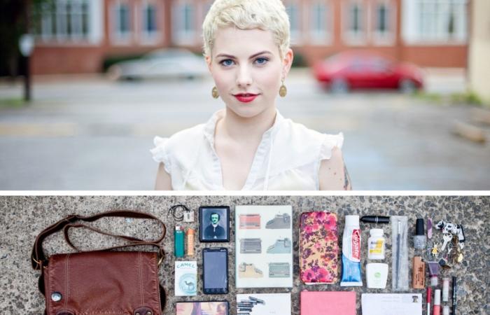Проект Персона: Люди и их сумки. Автор: Jason Travis.