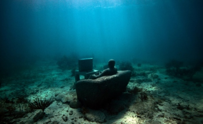 Ч�о можно �виде�� в един��венном в ми�е подводном м�зее