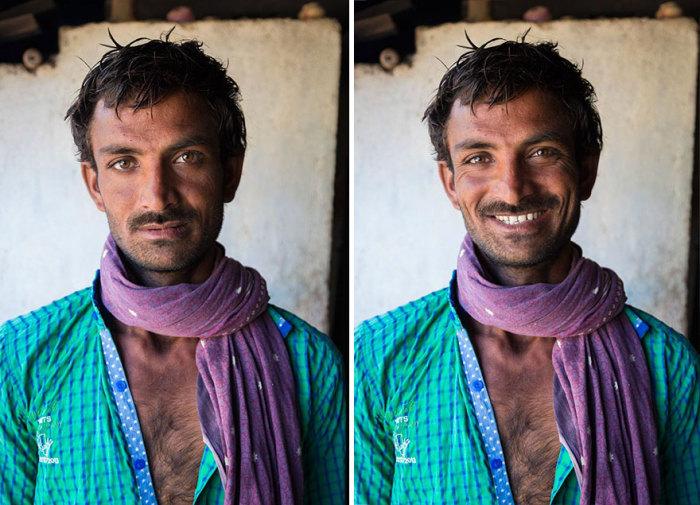 Деревня Кахсар, Гуджарат, Индия. Автор: Jay Weinstein.