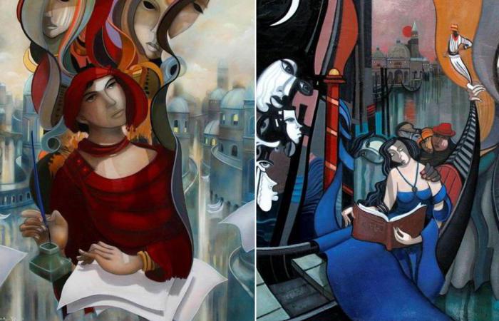 Таинственные, фантастические и даже странные картины. Автор: Jean-Louis Mendrisse.