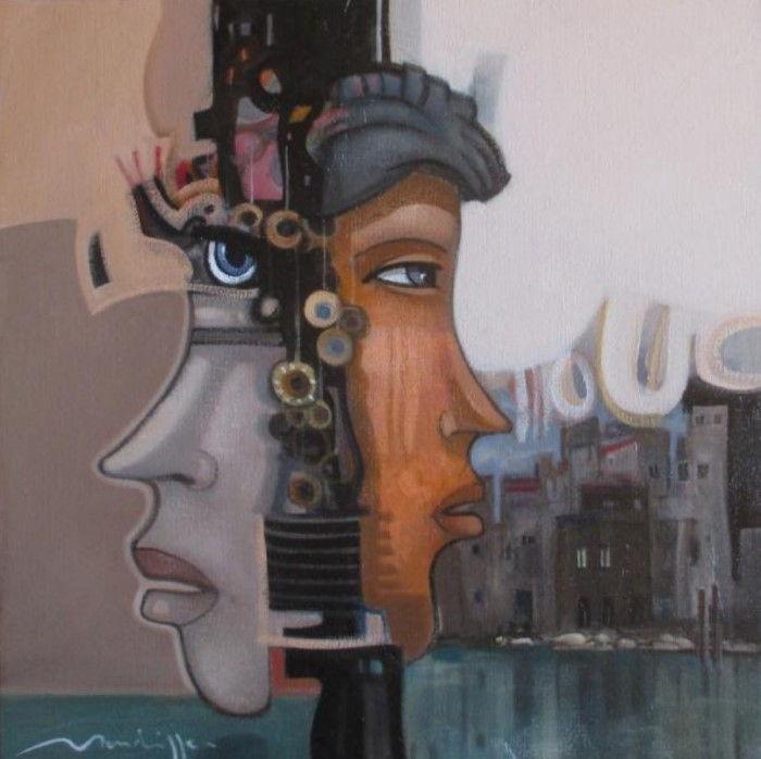 Двуличие. Автор: Jean-Louis Mendrisse.