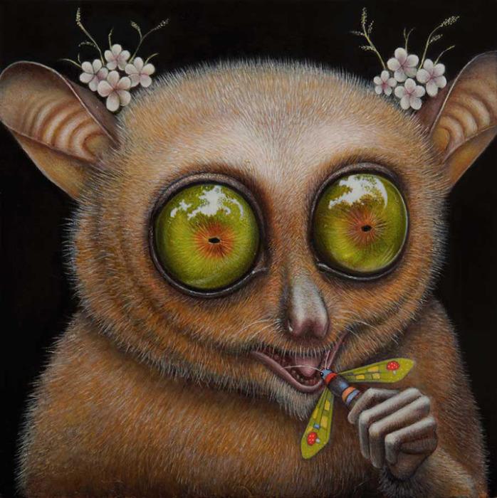 Голодные глаза. Автор: Jean-Pierre Arboleda.