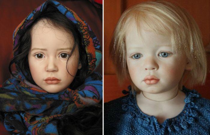 Невероятно реалистичные куклы. Автор: Jeanne Gross.