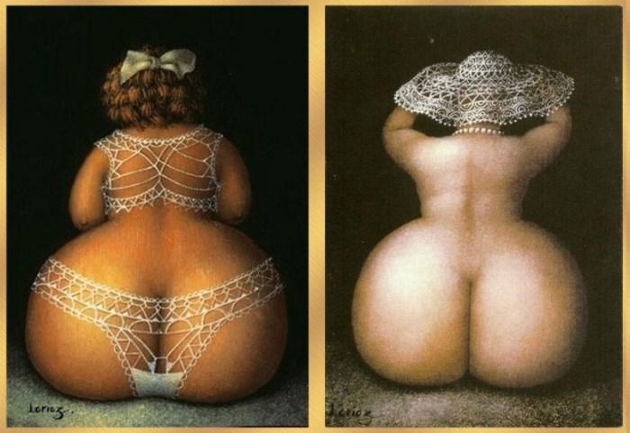 Ода пятой точке. Очаровательные рисунки с массой юмора. Художник Жанна Лорьоз (Jeanne Lorioz).