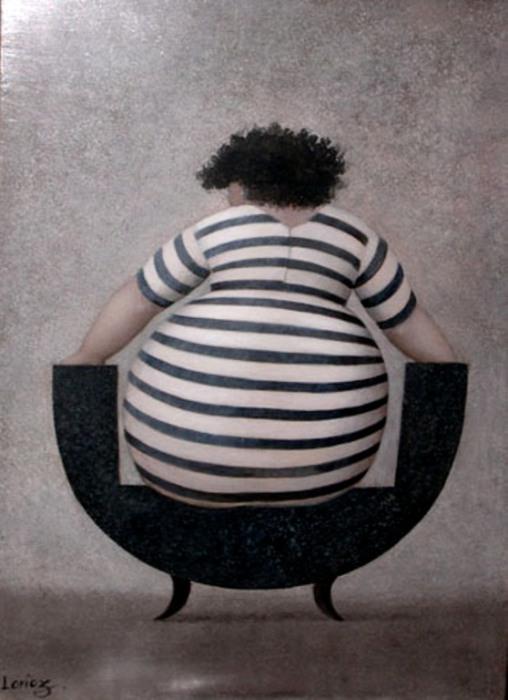 Замечательные работы французской художницы Художник Жанна Лорьоз (Jeanne Lorioz).