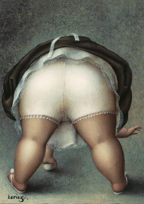 Юмористические рисунки  Жанны Лорьоз (Jeanne Lorioz).