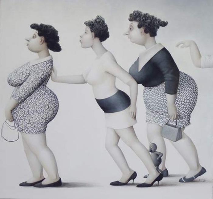 Замечательные работы французской художницы Жанны Лорьоз (Jeanne Lorioz).