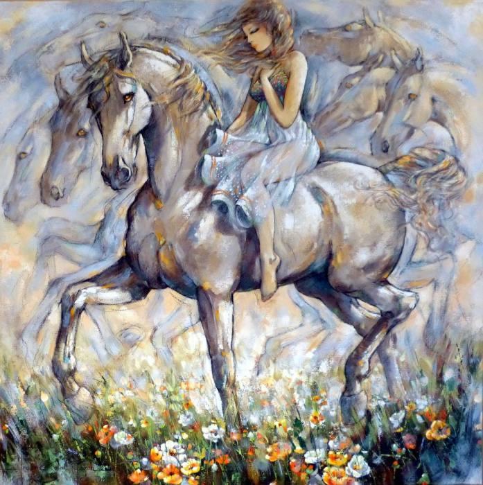 Вальс Шопена.  Автор Jeanne Saint Cheron.