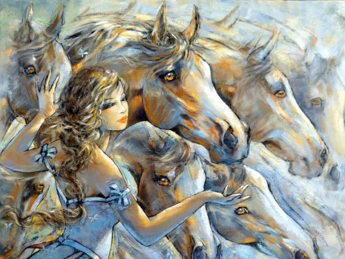 Волшебство. Автор Jeanne Saint Cheron.