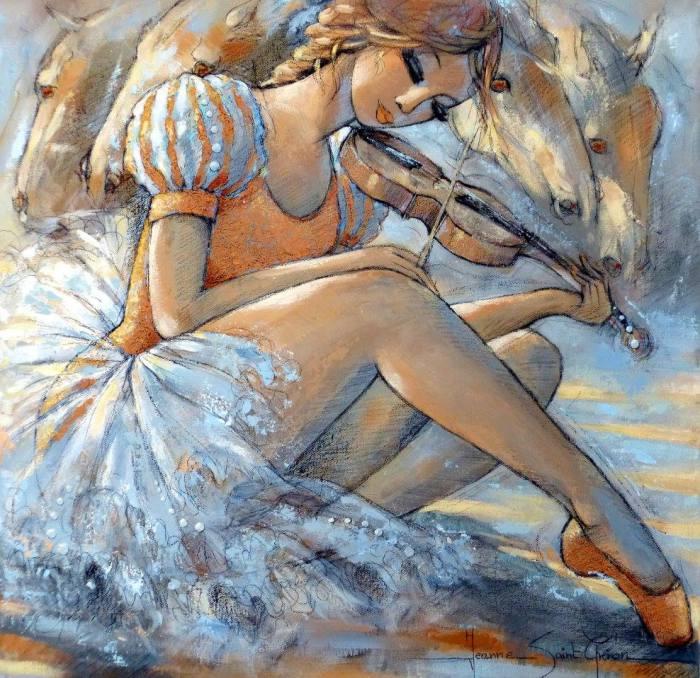 Мечта Коппелия. Автор Jeanne Saint Cheron.