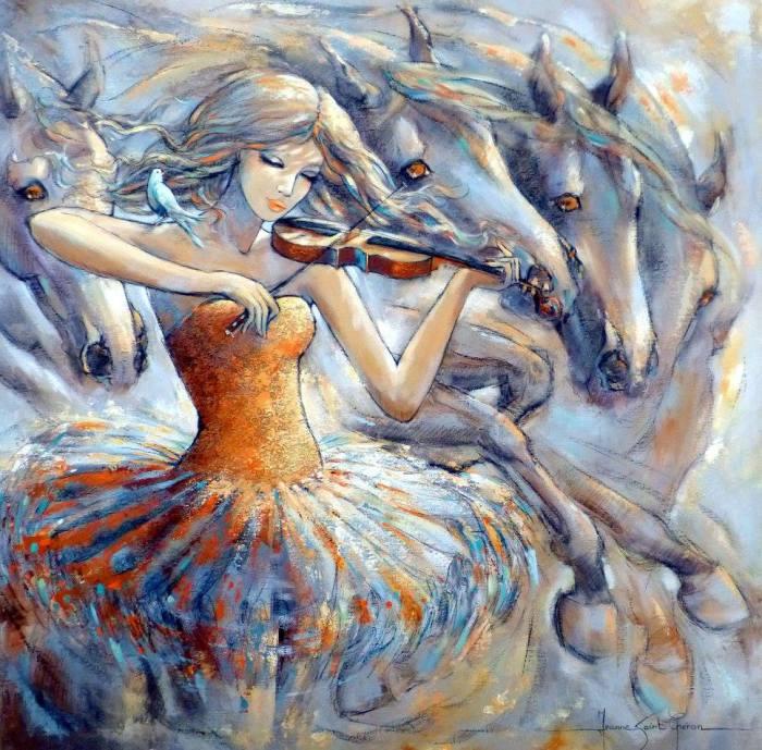 Мечта Аида.  Автор Jeanne Saint Cheron.