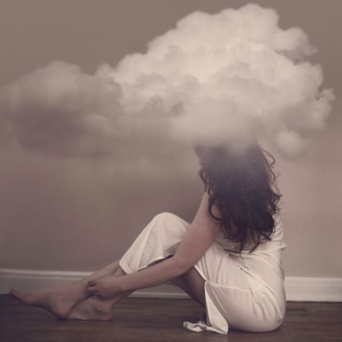 Погружение с головой в облачные мысли. Автор фото: Дженна Мартин (Jenna Martin).