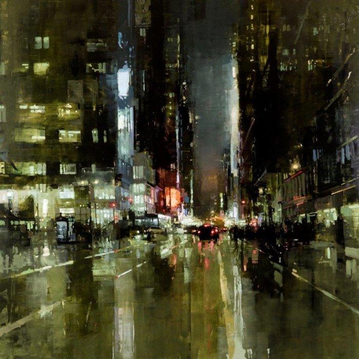 Нью-Йорк. Автор: Jeremy Mann.